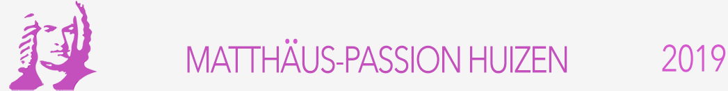 Matthäus-Passion Huizen logo